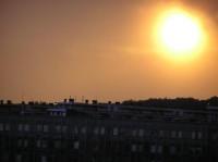 západ slunce nad Prosekem
