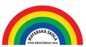 MŠ Pod Krocínkou logo